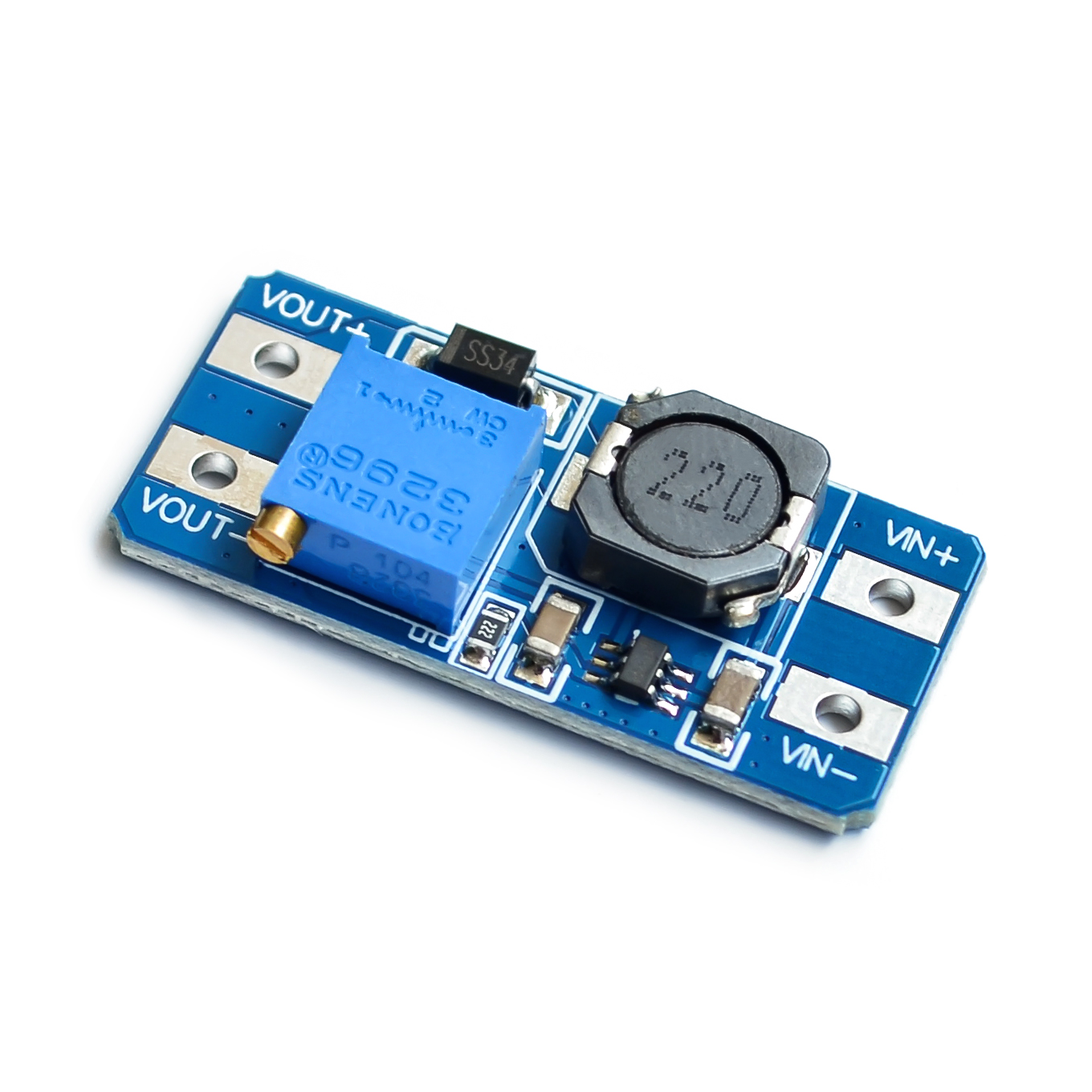 5pcs/lot MT3608 DC-DC Adjustable Boost Module 2A Boost Plate 2A Step Up Module With MICRO USB 2V - 24V To 5V 9V 12V 28V LM2577