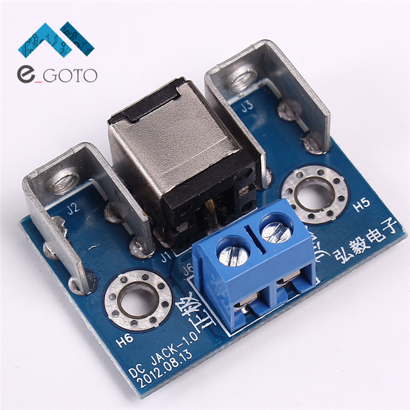10A Locking Wire Socket Board 5 5x2 5 for DC ATX ITPS Vehicle Car Computer Power