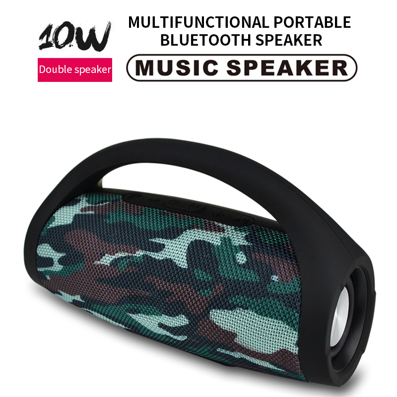 2019 New Wireless Bluetooth Speaker Portable Subwoofer Speaker 10W Bluetooth Audio For Music Center