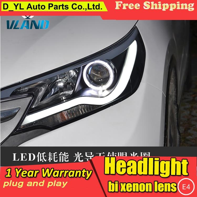 D YL Auto Styling voor Toyota C RV Koplampen 2013 2015 C RV LED Koplamp DRL Bi Xenon Lens Hoge Dimlicht parking Fog Lamp - 3