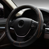 High Quality Car Steering Wheel Leather Cover Universal Auto Supplies Car Styling Accessories For Toyota Volkswagen