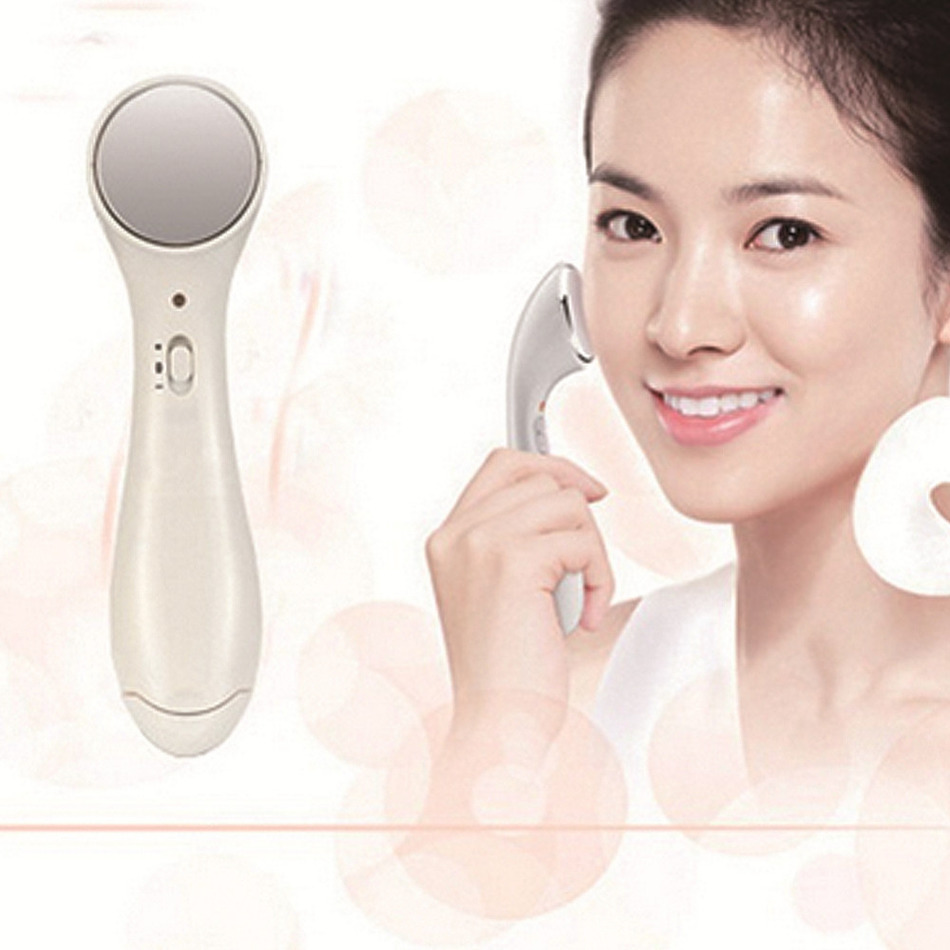 Fashion 1pc Women Anion Electric Facial Massager Cleaner Wrinkle Remove Whitening Beauty Instrument Facial Skin Cleansing Tools skin ultrasonic vibration massager and beauty instrument electric slimming massager whitening facial skin wrinkle removal