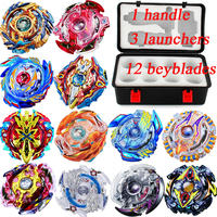 Transparent LED Light Hand Spinner Fidget Crystal Plastic EDC Switch Finger Tri Spinner Autism Relief Anxiety