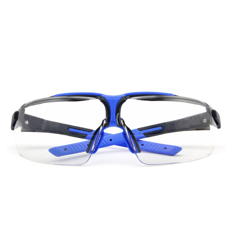 UVEX Safety Goggles Transparent PC Lens Wear-resistant Anti-impact Protective Eyeglasses Anti-fog Dustproof Work Riding Goggles