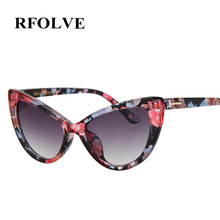 RFOLVE Hot New Designer Women Glasses Inspired Sun Glasses Cateye Women Oversize Cat Eye Celebrity Sunglasses UV400 RF8806