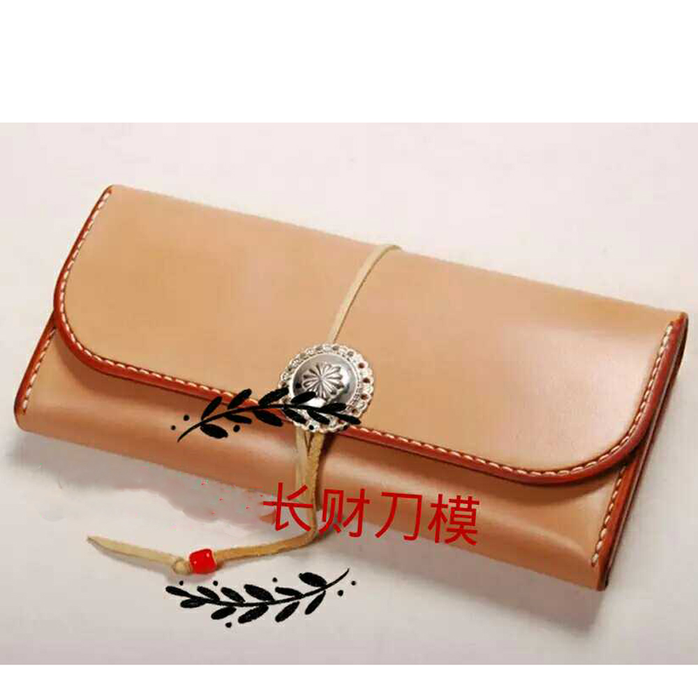 DIY leather craft long zipper wallet inner pocket card holder vintage design die cutting knife mould hand machine punch tool DIY leather craft long zipper wallet inner pocket card holder vintage design die cutting knife mould hand machine punch tool