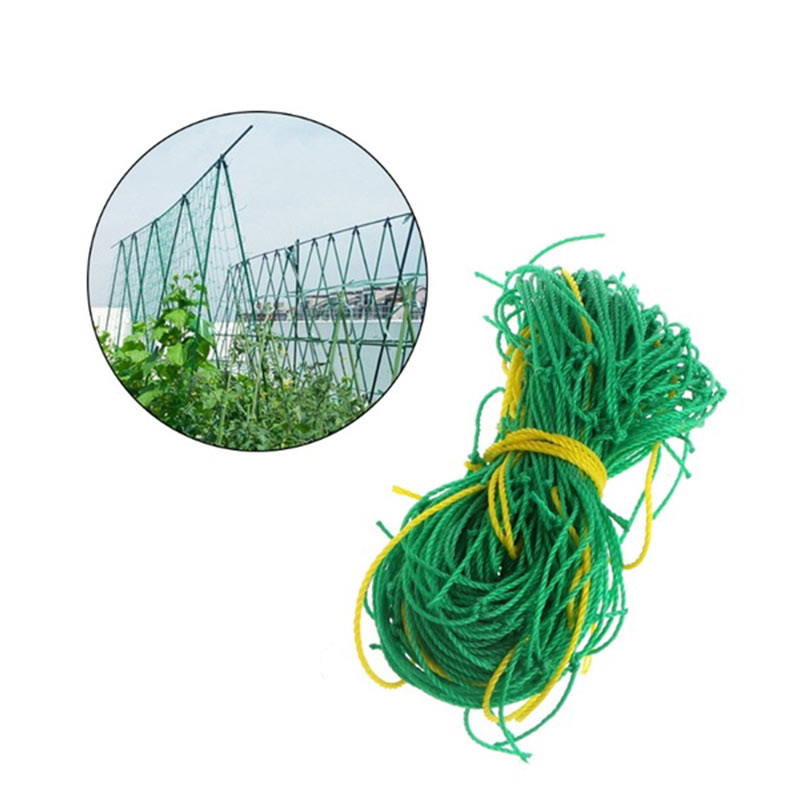 1.8m*1.8m Garden Fence Nylon Net Plant Growth Climbing Frame Fence Lattice Gardening Net Vegetable Plant Lattice Garden Tools