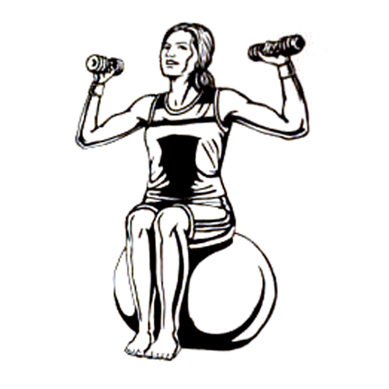 11.7CM*17CM Fashion Fitness Workout Muscle Dumbbells Sports Decal Vinyl Car Sticker Silhouette