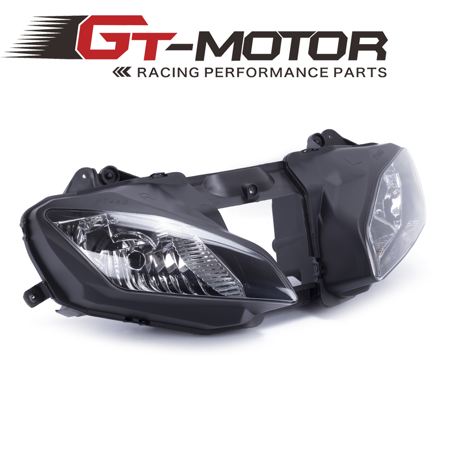 GT Motor - FREE SHIPPING Motorcycle Clear Lens Headlight Headlamp Case For Yamaha YZF R6 08-15 Front Head Light Assembly Housing free shipping motorcycle front