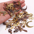 Metal Mixed Charms for Jewelry Making DIY Handmade Crafts Vintage Pendant Charms 100pcs/lot C5089