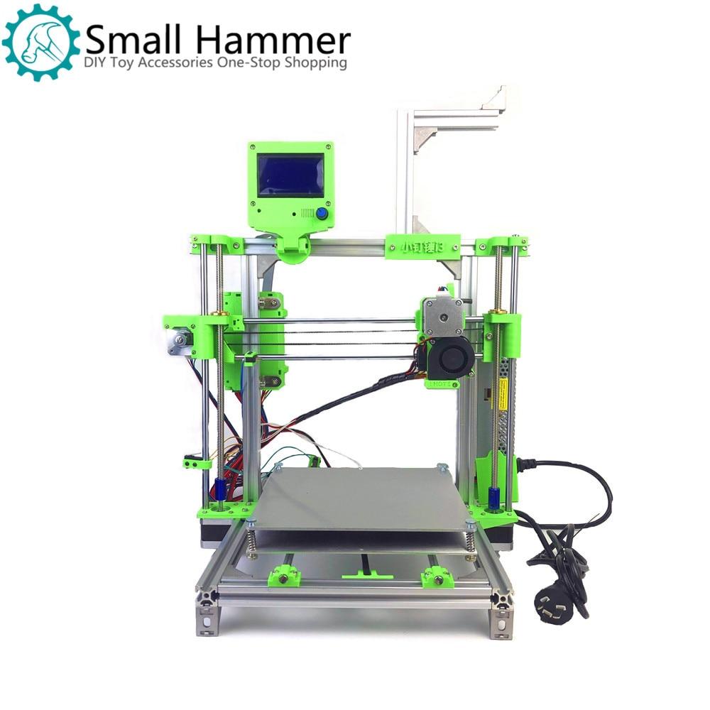 Small Hammer 3D Printer I3 Low Cost Entry Arduino Set DIY Kit