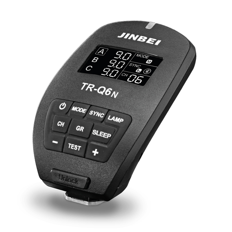 JINBEI TR-Q6 N TTL Bluetooth Radio Trigger For Nikon