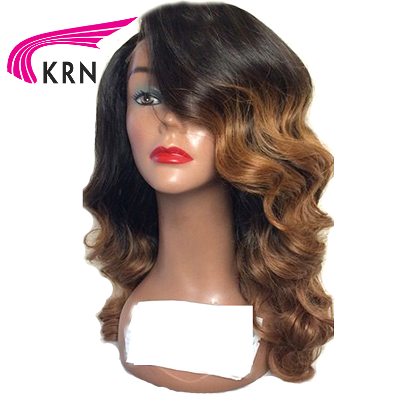KRN Brazilian 13x3 Lace Front Human Hair Wigs Remy Hair Body Wave Lace Wigs With Baby
