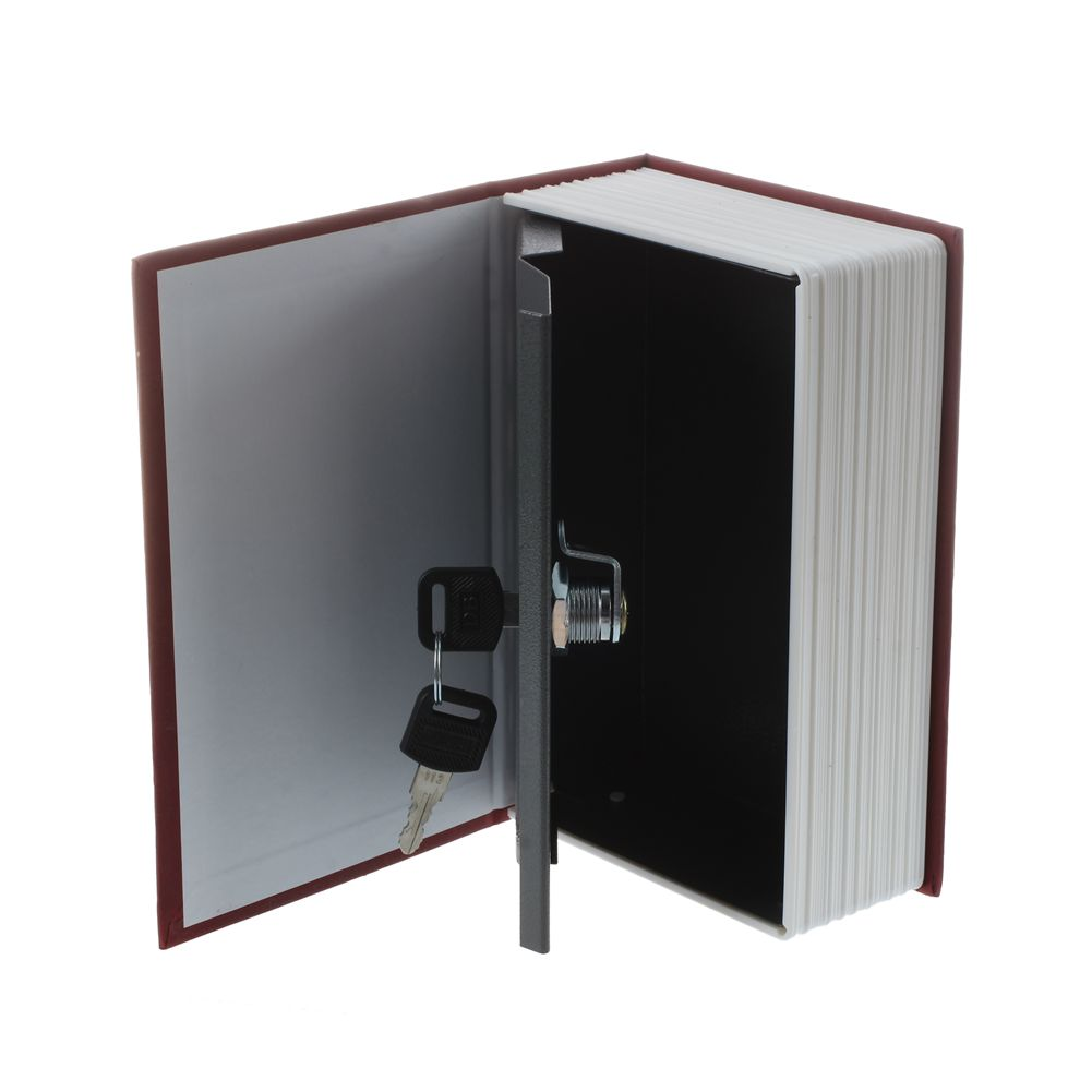 New Dictionary Book Secret Hidden Safe Key Lock Cash Money Jewellery Locker Box ...
