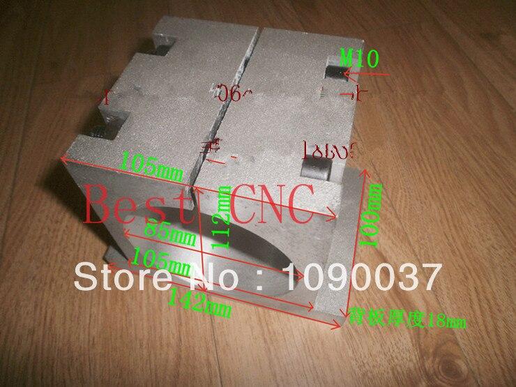 Бесплатная доставка 85 мм двигатель Шпинделя крепление Шпинделя Чак для Чпу шпинделя патрон шпинделя монтирует 85 мм