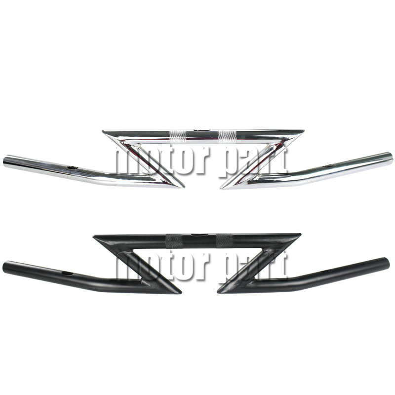 Universal Handlebars 1 Z Bar Handlebar For Harley Sportster XL XLH 883 Motorcycle mtsooning timing cover and 1 derby cover for harley davidson xlh 883 sportster 1986 2004 xl 883 sportster custom 1998 2008 883l