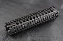 Jagd schießen Tactical AR 15 picatinny schiene Handschutz system 9 zoll cnc Aluminium alloy schneiden M2299
