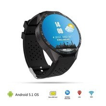Bluetooth KW88 Android 5 1 Smart Watch Phone MTK6580 Quad Core 2 0MP Camera font b