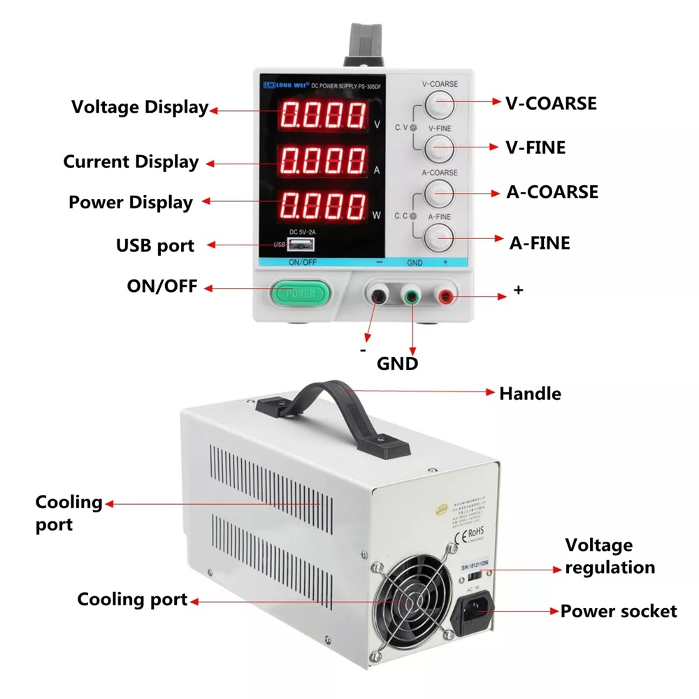 100 240Vac to 5VDC ,300W ,5V 60A UL Listed power supply ,LED screen ,monitor ultra slim driver ,LRS 350 5 - 3