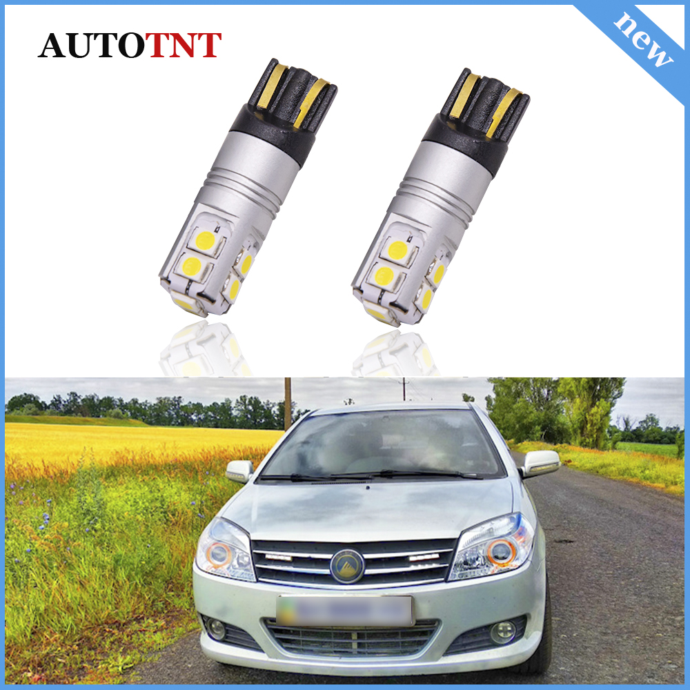 Auto Canbus No Error <font><b>T10</b></font> W5W LED Lamps Clearance Parking Lights For Geely Atlas <font><b>BL</b></font> CK Emgrand 7 EC7 FE-1 EC7 RV EC8 GT X7 image