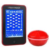Erchang Smart Portable Depth Fish Finder with 500M Touch Screen Wireless Sonar Sensor echo sounder Fishfinder Lake Sea Fishing