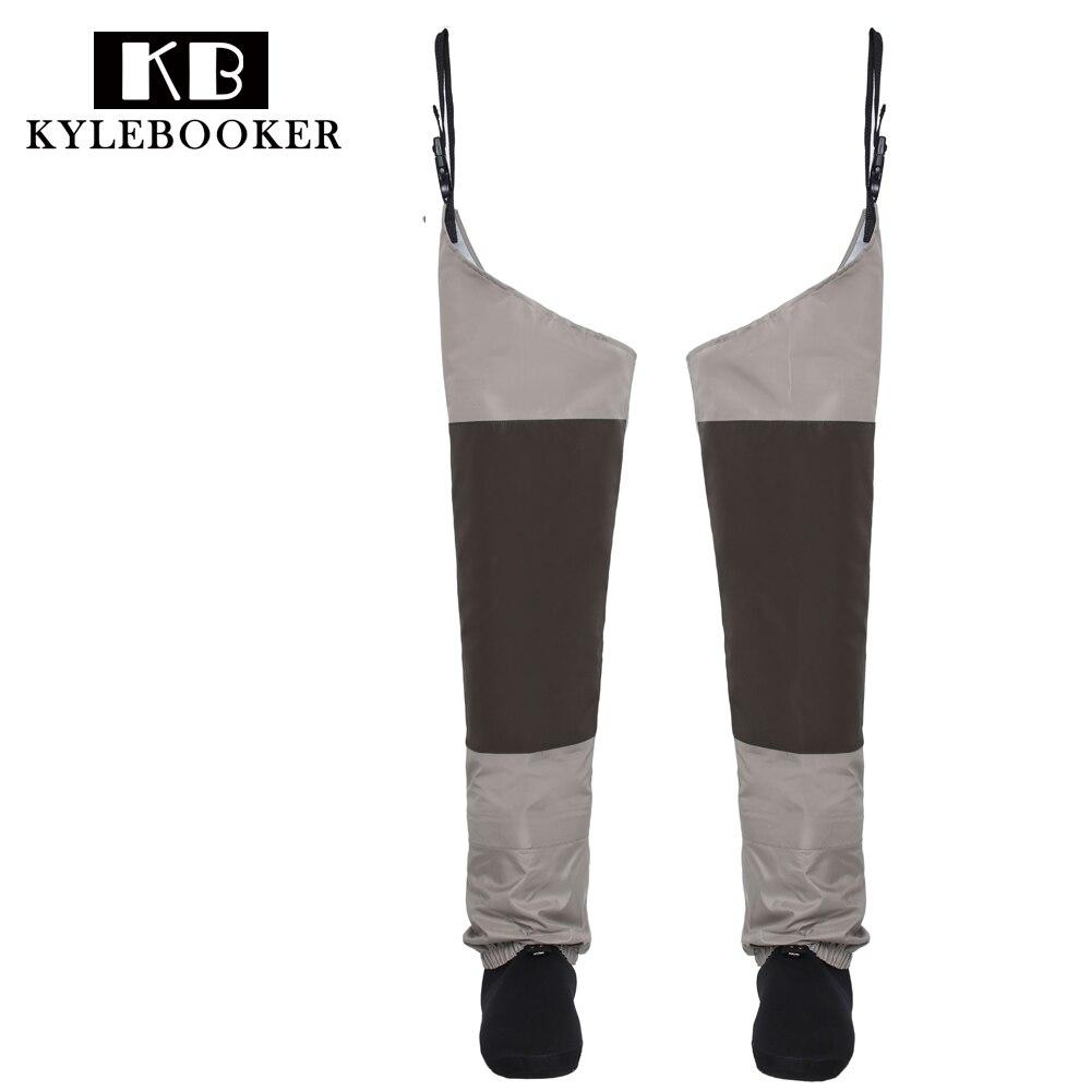 Fly рыбацкие сапоги Хип Вейдер Дышащие бедра waders непромокаемые брюки ноги брюки с чулком ноги рыболовные снасти