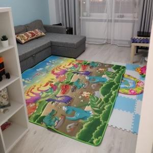 Image 4 - 1 センチメートル 0.5 センチメートル厚いベビークロール教育アルファベットゲーム敷物子供のためのパズル活動ジムカーペット Eva 泡子供のおもちゃ