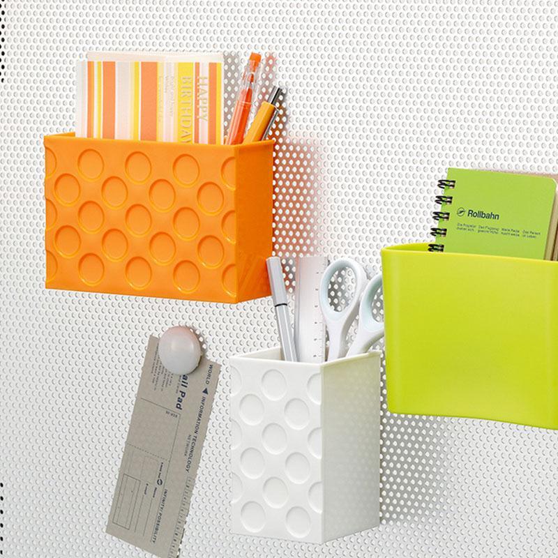 Plastic Storage Box Fridge Magnet Magnetic Kitchenware