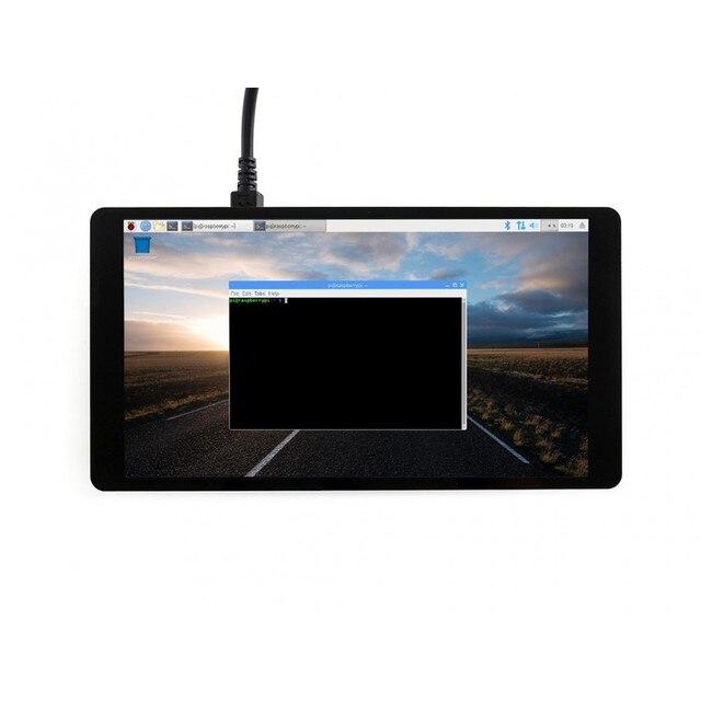 5,5 дюймов AMOLED lcd емкостный сенсорный экран AMOLED с закаленным стеклянным покрытием HDMI интерфейс Поддержка Raspberry Pi 3 Model B +