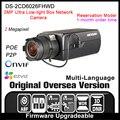 Ds-2cd6026fhwd versão original em inglês hikvision ip câmera de 2mp câmera de segurança cctv camera p2p onvif poe indoor hd h265 hik