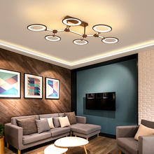New Brown ceiling light Modern LED lights for living room bed Ceiling Lamp Luminaria led
