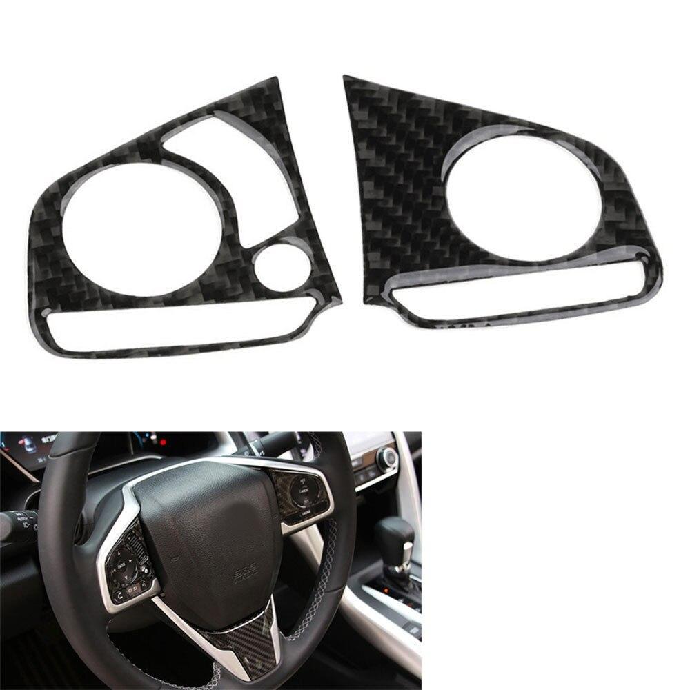 BBQ @ FUKA 2x In fibra di carbonio Auto volante Decorazione copertura - Accessori per auto interni