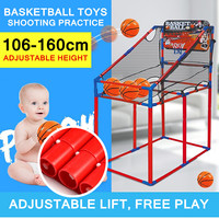 Fun Gift Portable Kid Adult Basketball Stands Sports Game Shooting Practice Toys Indoors Outdoors Disassemble Child Adjustable