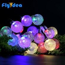 LED Palloncino pallanuoto delle Luci del Nuovo Anno Vacanza Luci di Natale Al Coperto e Allaperto di Natale Albero Di Natale Luci Decorative
