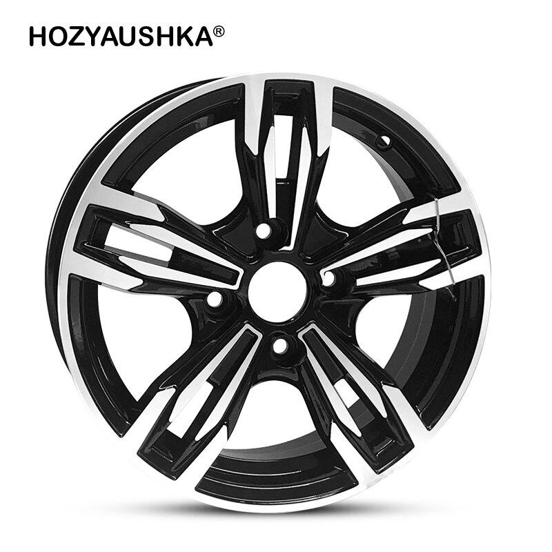 1 pièces prix roue en alliage d'aluminium Applicable 14 pouces roue de voiture modifiée adapté à certaines modifications de voiture livraison gratuite