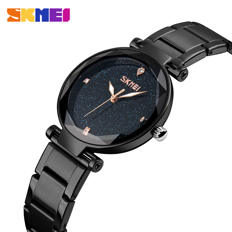 Watches Women Top Brand Luxury Female Clock Ladies Quartz Watch For Girls Wrist Watch relogio feminino SKMEI 2018 montre femme