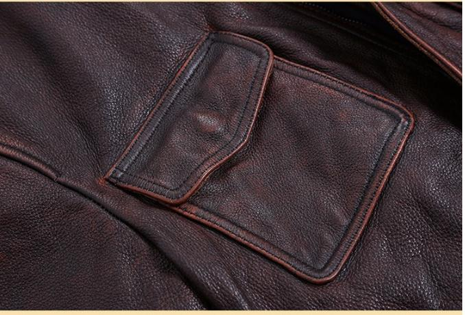 Free shipping.Plus Size classic leather jacket,short genuine leather coat,vintage brown mens slim leather coat.business,sales