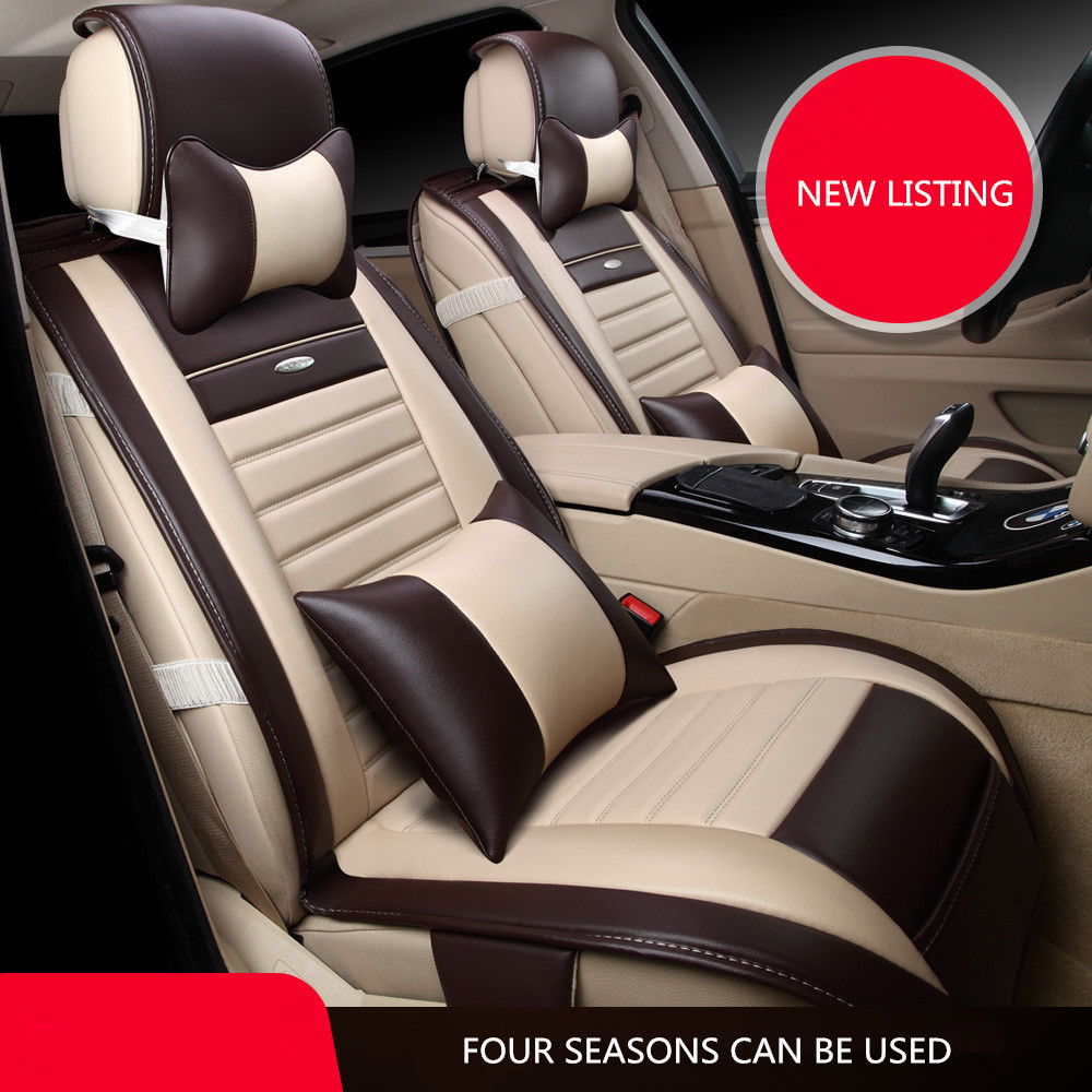 Aliexpresscom  Buy Universal Artificial leather Car Seat Cover
