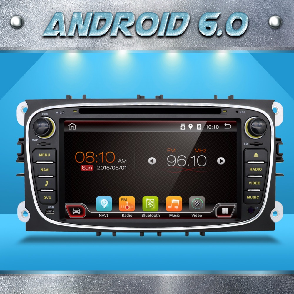 2din font b car b font dvd android for Ford S MAX C MAX Galaxy 1024