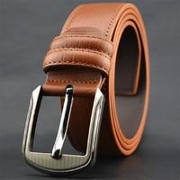 Casual Or Business Designer Belts Men High Quality 3 Colors Cowskin Men Belt Good Quality Belt