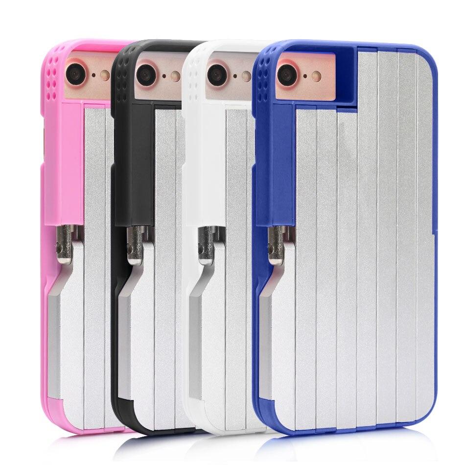 magic selfie stick case for iphone 7 plus 7 6s 6 aluminum abs