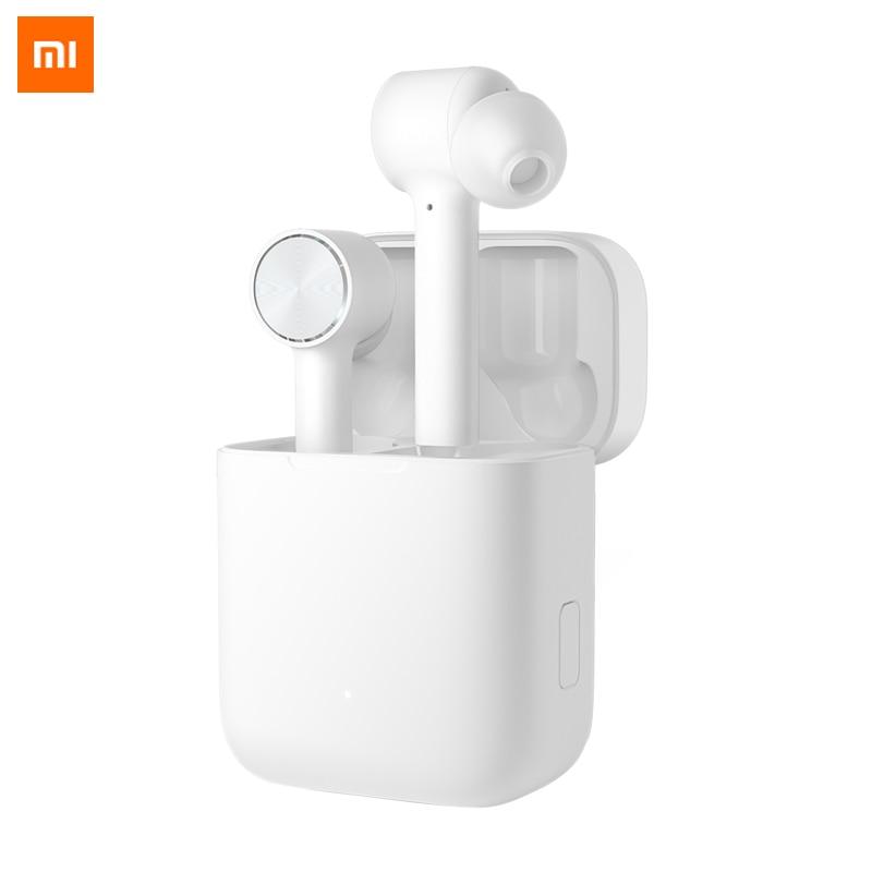 Nouveau 100% D'origine Xiao mi Air Vrai Sans Fil Bluetooth Écouteurs mi AAC HD Son Bruit réduction Tactile TWS Casque Avec mi c Écouteurs