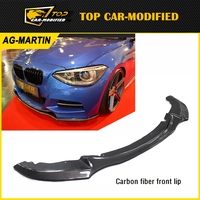 Free shipping Carbon Fiber Front Bumper Lip for BMW 1 series F20 135i 116 118 120 125 for 2012 up