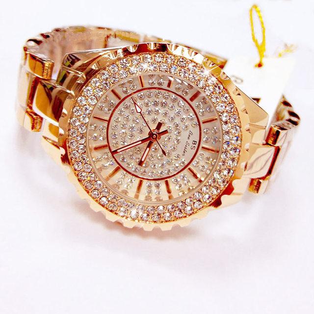 Fashion Ladies Gold Watches