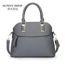 SUNNY SHOP 2017 Mode Shell Frauen Tasche Candy Cplor Frauen Messenger Bags Frauen Leder Handtaschen Designer-handtaschen Hoher Qualität