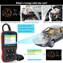 Car Diagnostic Tool OBD2 Automotive Scanner for Mercedes Benz