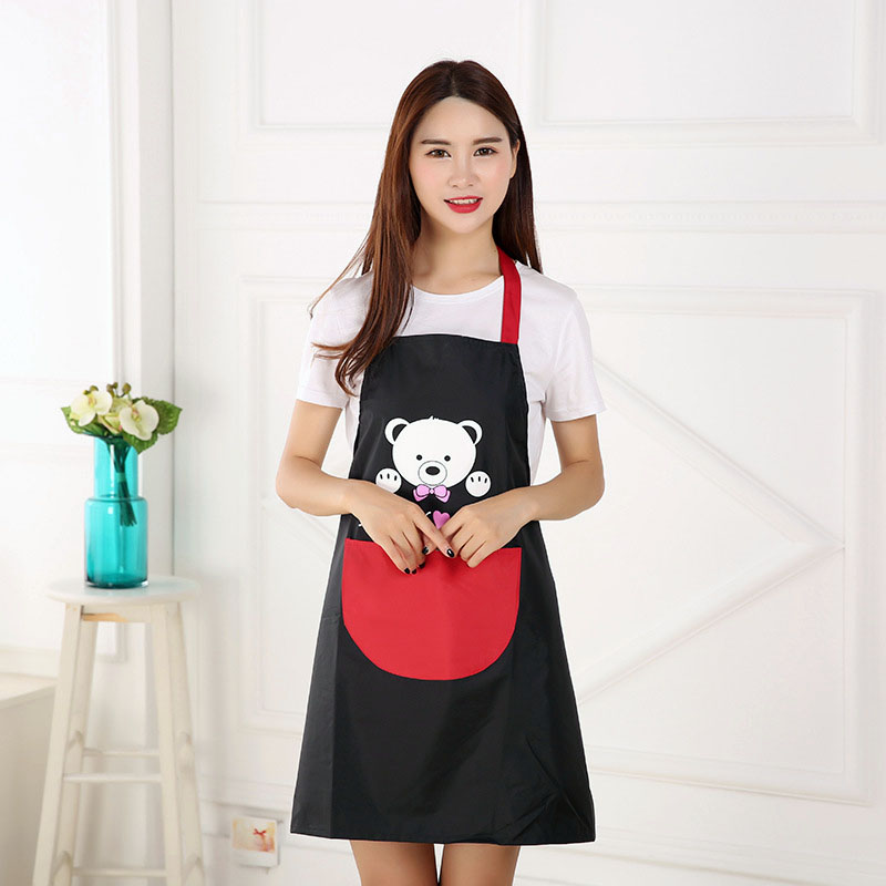 Womens Apron Home Kitchen Chef Aprons Restaurant Cooking Baking Dress Fashion US