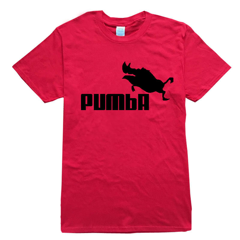 rumeiai 2017 funny tee cute t shirts homme pumba men women 100 cotton cool tshirt lovely kawaii. Black Bedroom Furniture Sets. Home Design Ideas