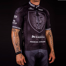 Men Jersey Sets Team Racing Bike Cycling Skull Clothing