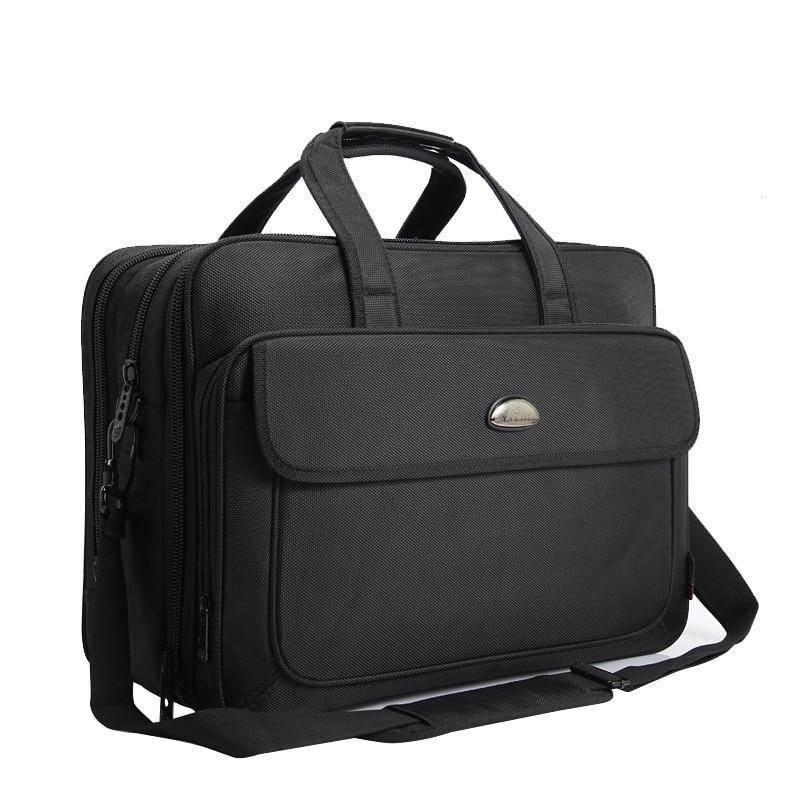 Briefcase Laptop-Bag Messenger-Bag Computer Shoulder 17inch Waterproof Portable Oxford